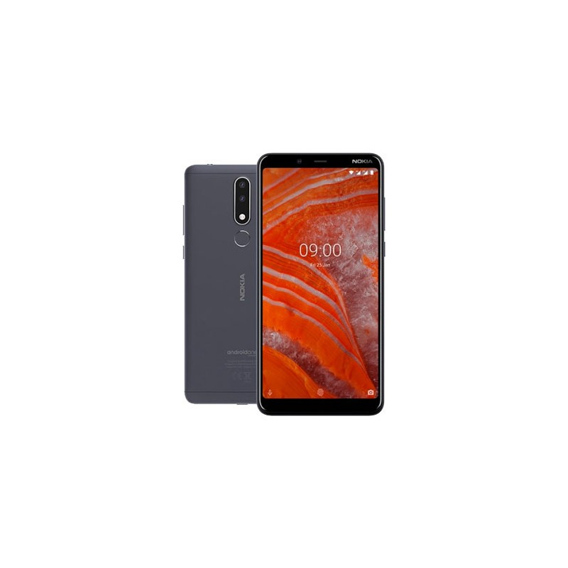 Nokia 3.1 Plus Carbon