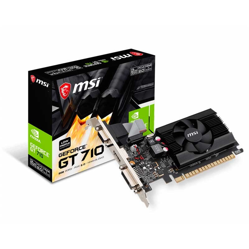 MSI GeForce GT 710 2GD3 LP