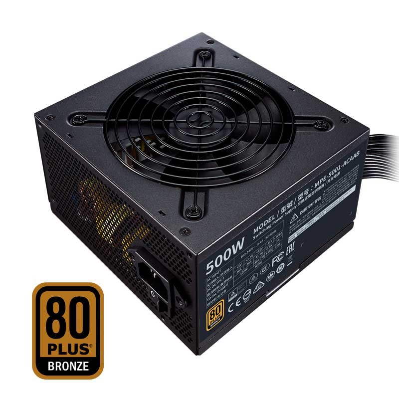 Cooler Master MWE V2 500W - 80 Plus Bronze