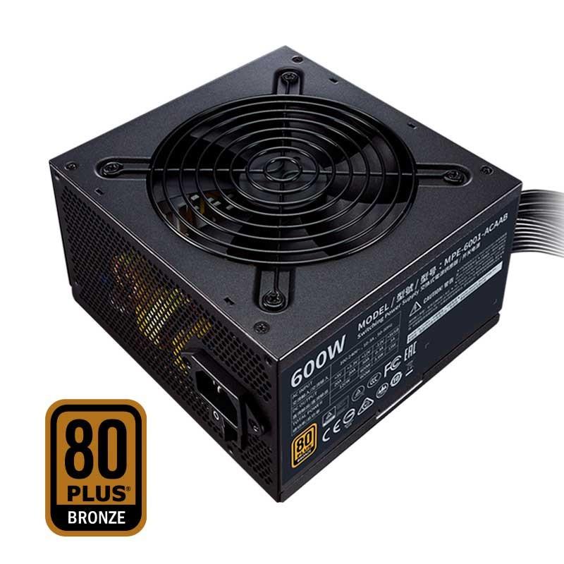 Cooler Master MWE V2 600W - 80 Plus Bronze