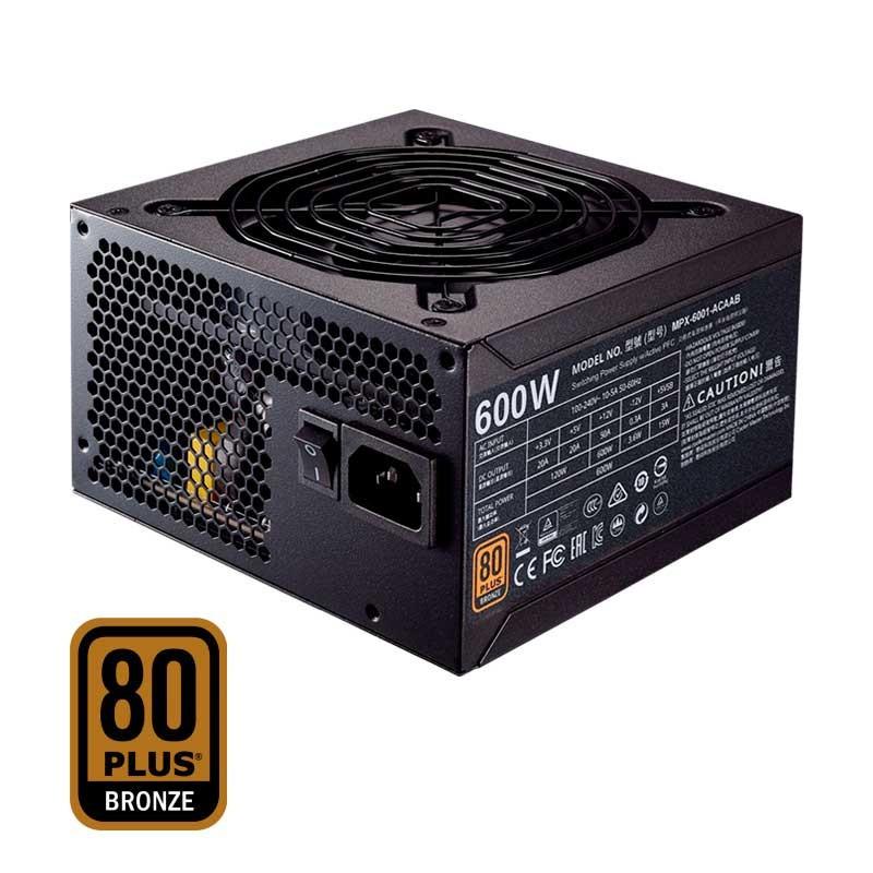 Cooler Master MWE 600W - 80 Plus Bronze
