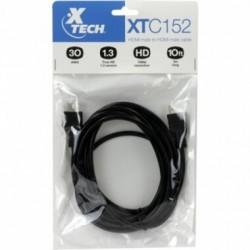 HDMI a HDMI 3 mts 1080p 30AWG diam 7.3mm