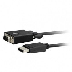 Cable DisplayPort macho-VGA...