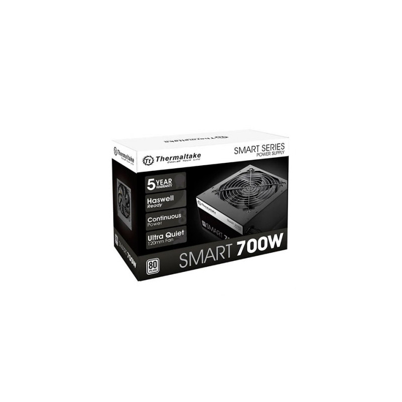 Fuente Thermaltake SMART White 700W - 80 Plus