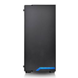 Gabinete H100 TG Negro Thermaltake con Cooler LED