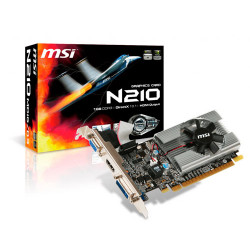 Placa de video MSI GeForce 210 MD1G/D3 DDR3 64 bits