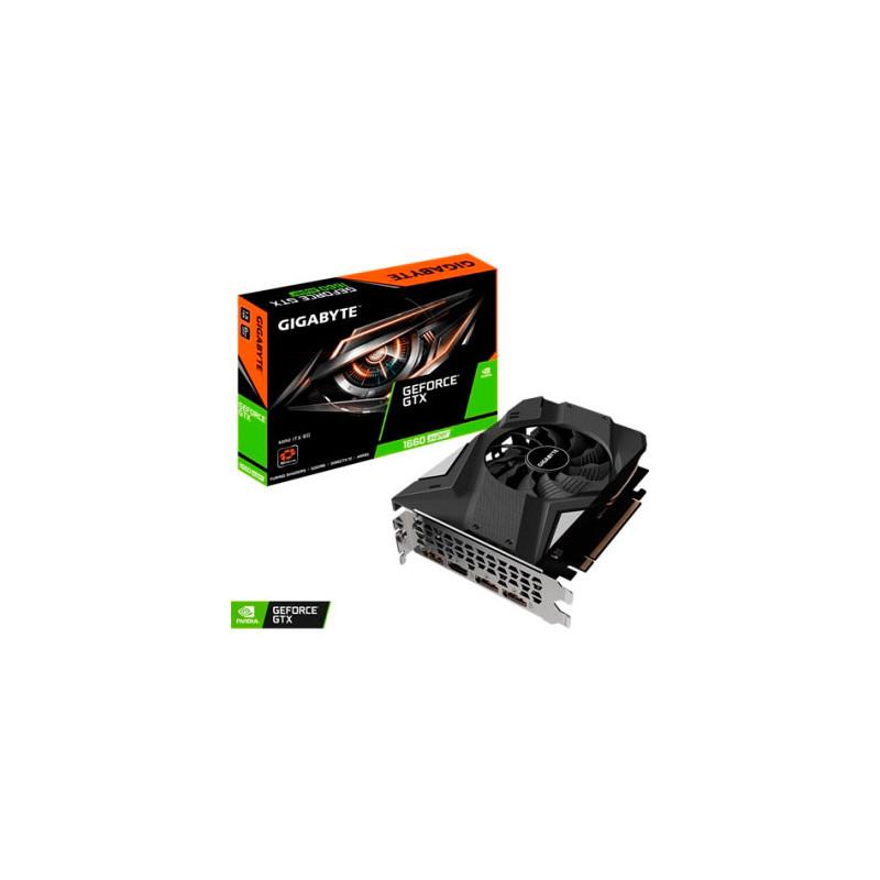 Placa de video Gigabyte GeForce GTX 1660 SUPER MINI ITX 6G