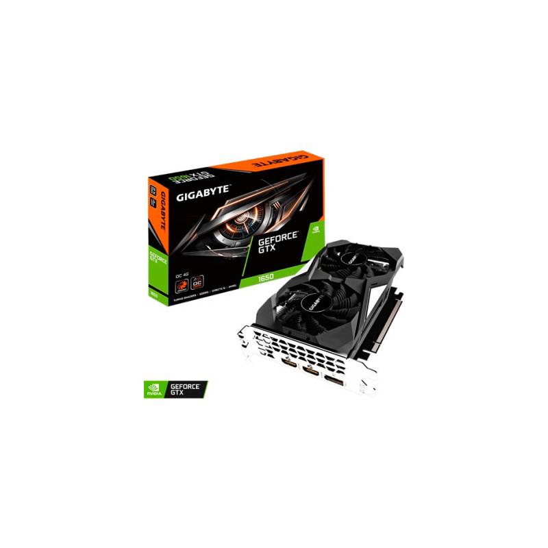 Placa de video Gigabyte GeForce GTX 1650 OC 4G