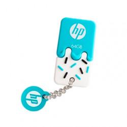 Pen Drive HP V178B USB 2.0 64GB Blue