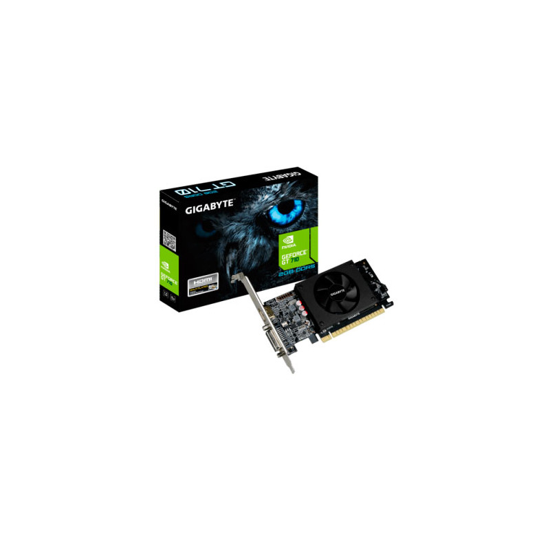 Placa de video Gigabyte GeForce GT 710 DDR5 2GB