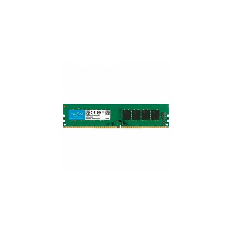 Memoria PC Crucial DDR4 4GB 2400MHz UDIMM