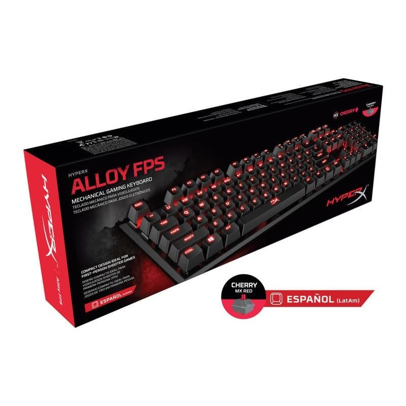 HyperX Alloy FPS Red packaging front
