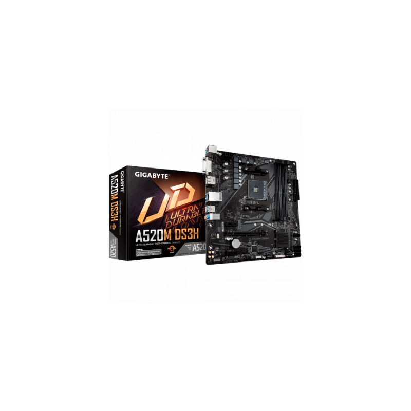 Motherboard (AM4) Gugabyte A520M DS3H