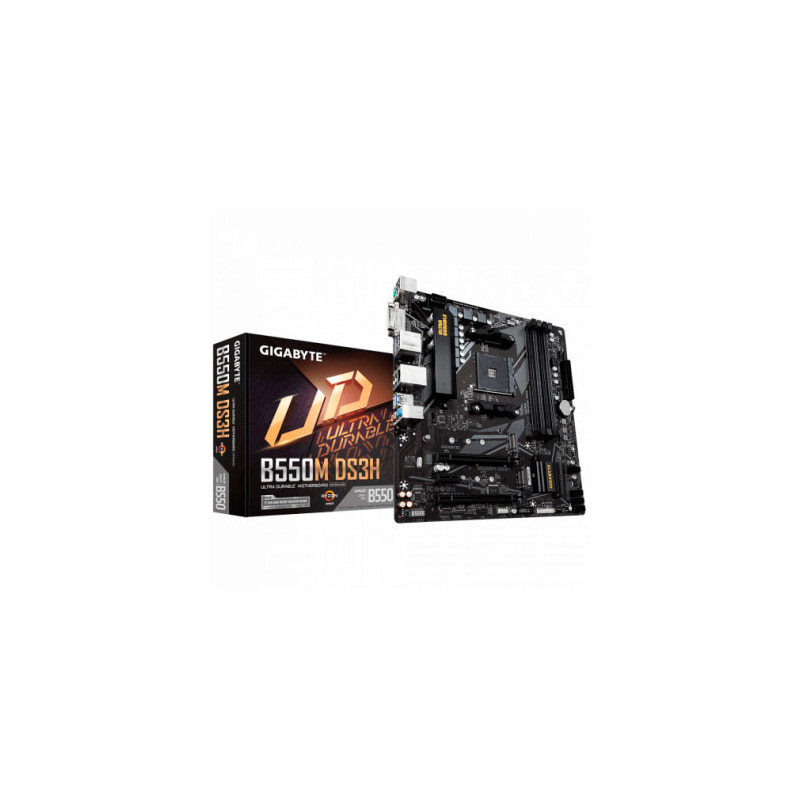 Motherboard (AM4) Gigabyte B550M DS3H