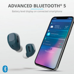 Auriculares Bluetooth Nika Touch Azul