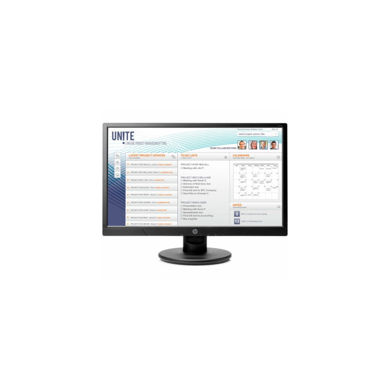 "Monitor HP 20.7"" V214a HDMI"
