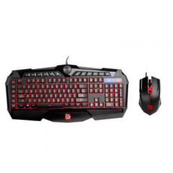 Teclado y Mouse Gaming Challenger Prime Combo RGB