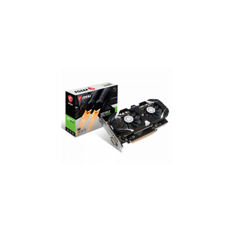 Placa de Video MSI GeForce GTX 1050 Ti 4GT OC