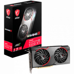 Placa de video MSI Radeon RX 5500 XT GAMING X 8G