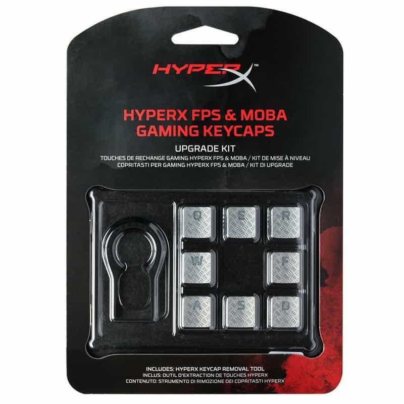 HyperX FPS & MOBA Gaming Keycaps packaging