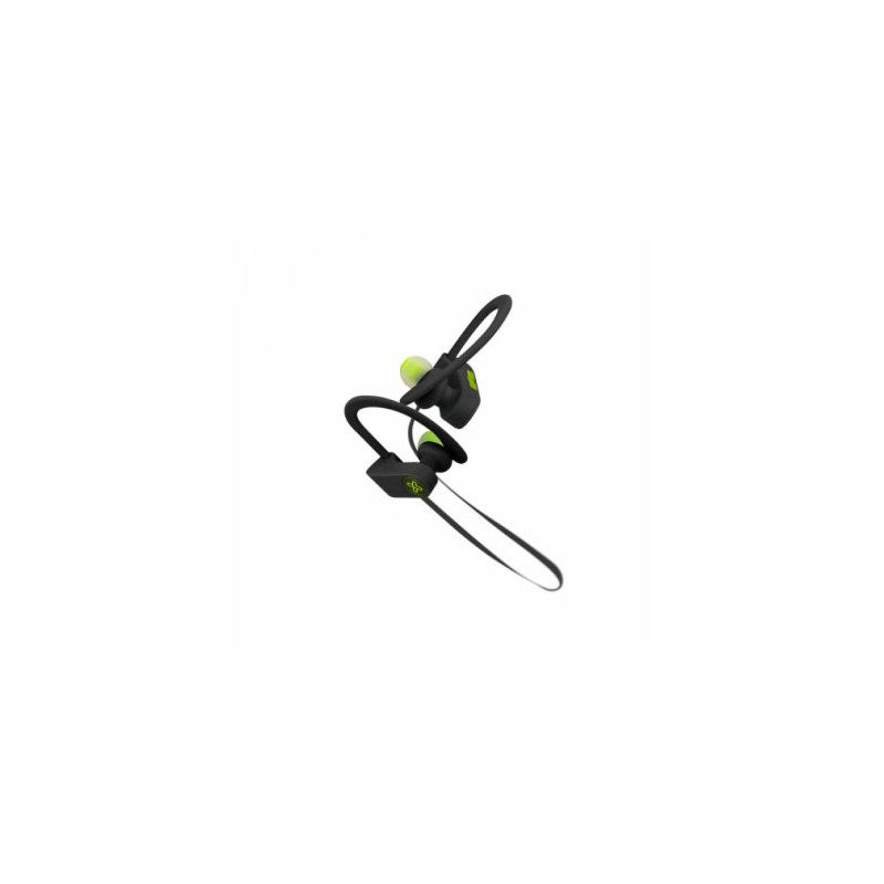 Auriculares deportivos con micrófono Klip Xtreme JogBudz black