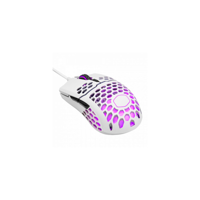 Mouse Gamer RGB MM711 Blanco Matte