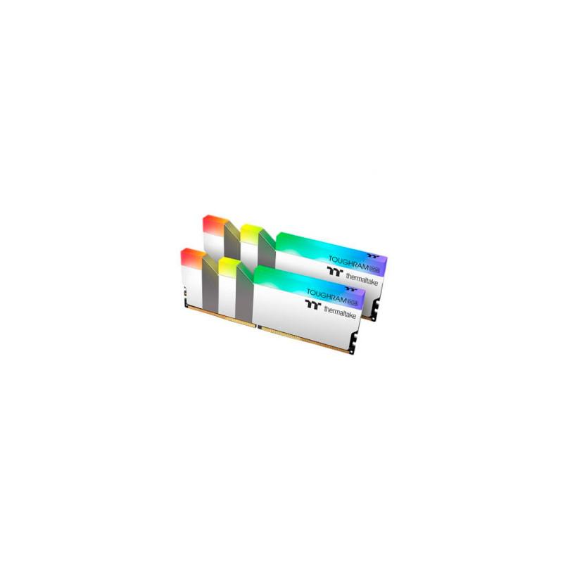 Mem PC TOUGHRAM DDR4 16GB 3600MHz 2x8GB -RGB White
