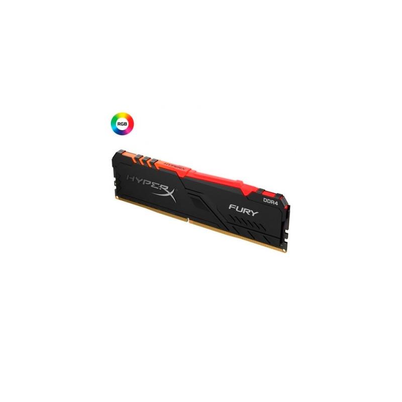 Memoria PC HyperX DDR4 8GB 2666 C16 Fury RGB