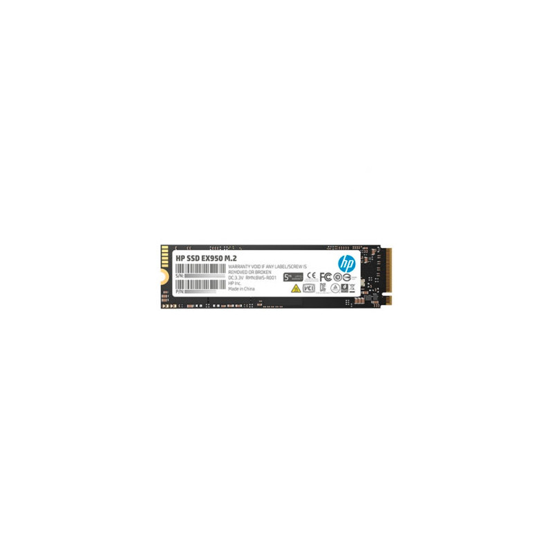 Disco PCIe NVMe M.2 512GB HP EX950 3500Mb/s