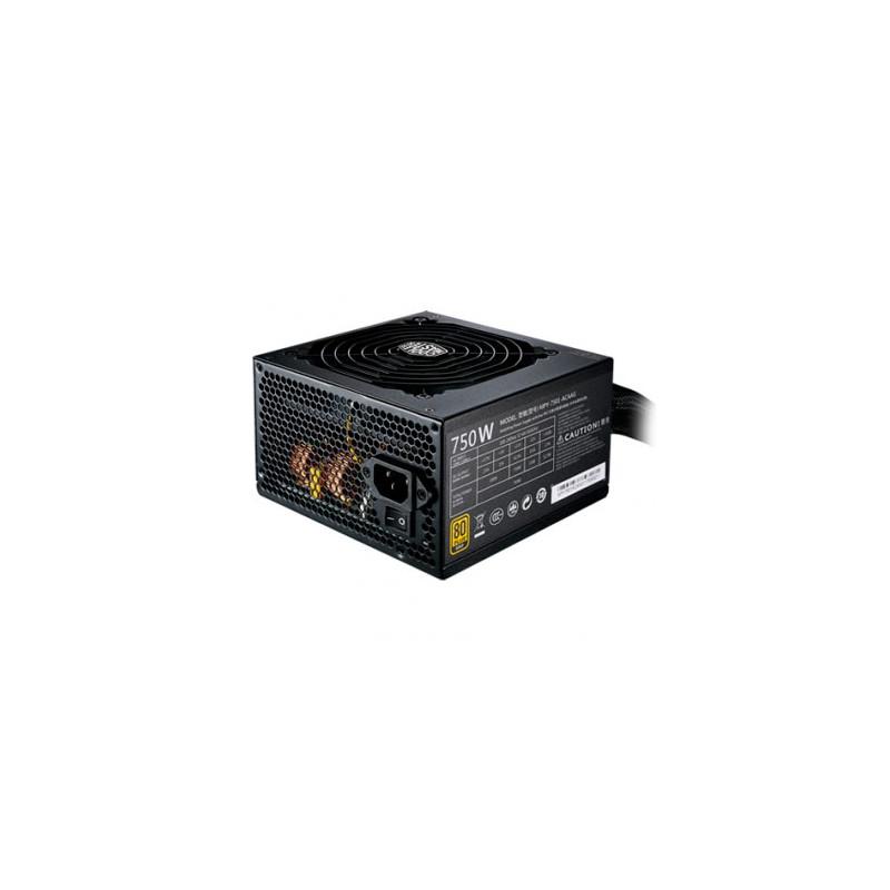 Fuente Cooler Master MWE Gold 750W - 80 Plus
