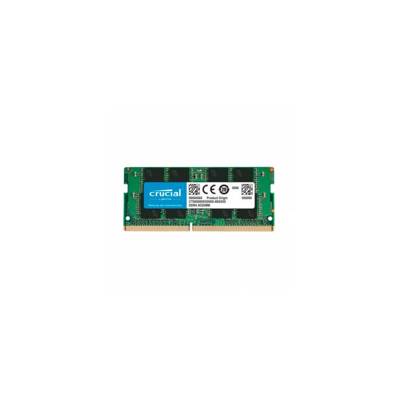 Memoria SODIMM Crucial DDR4 4GB 2666MHz