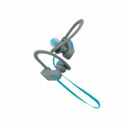 Auriculares deportivos con micrófono Klip Xtreme JogBudz Azul