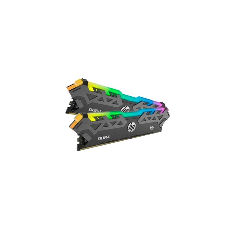 Memoria PC HP RGB V8 DDR4 16GB (2x8G) 3600MHz