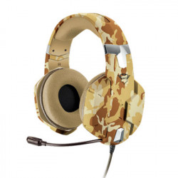 Auriculares Gaming Trust GXT322D Carus Desert Camo
