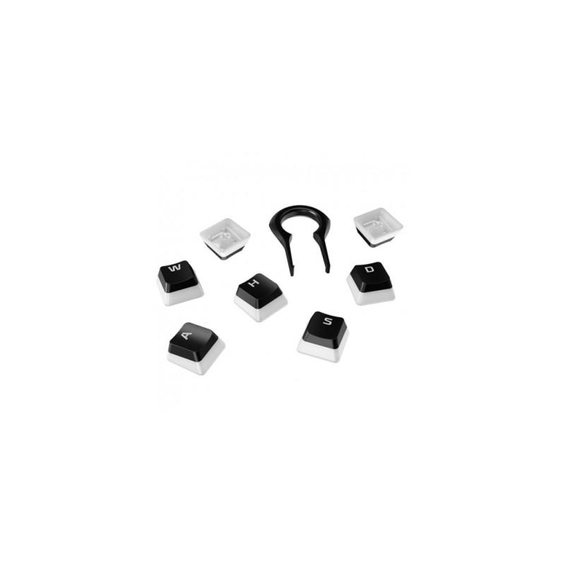 Keycaps Kit HyperX Gaming Double Shot PBT Bla/Whi