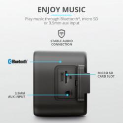Parlante Bluetooth Trust Zowy Max Stylish Negro