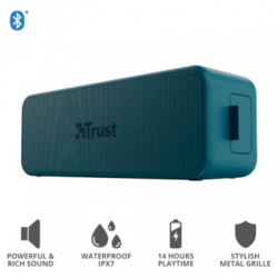 Parlante Bluetooth Trust Zowy Max Stylish Azul