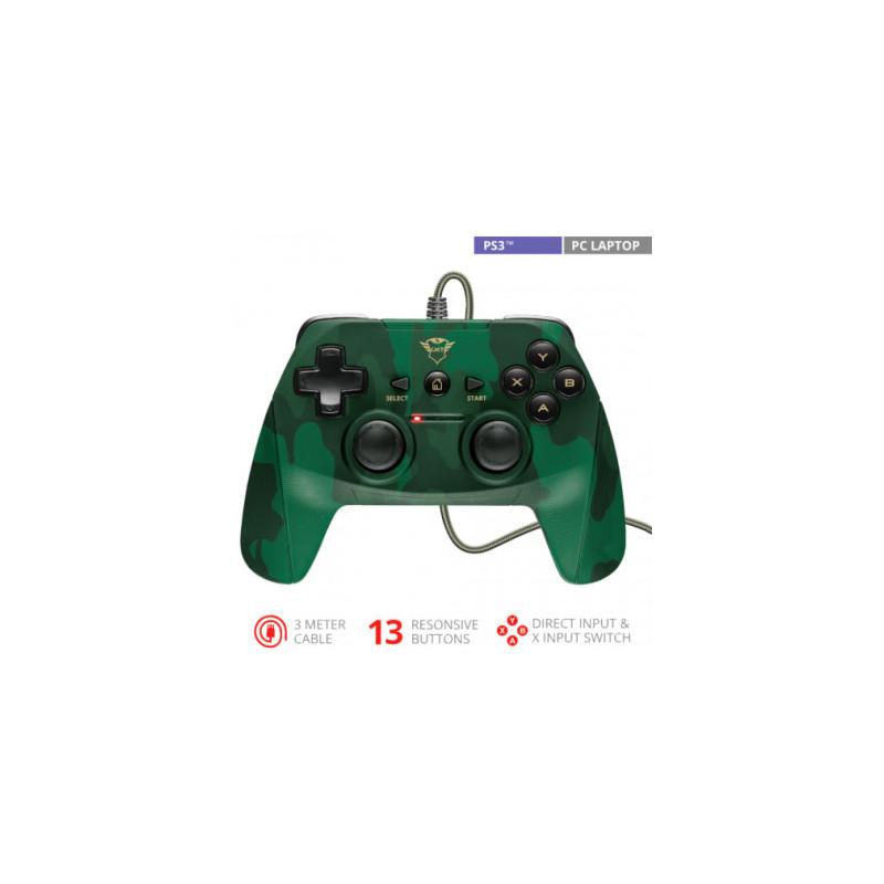 Joystick GXT540C Yula Camo para PS3 y PC