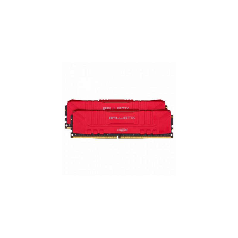 Memoria PC Crucial Ballistix DDR4 16GB Kit 3600MHz CL16 (2x8GB) - Red