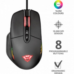 Mouse Gaming Trust GXT940 Xidon RGB