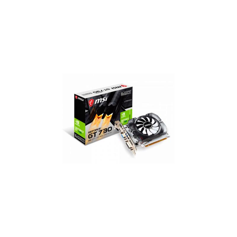 Placa de video MSI GeForce GT 730 2GD3H