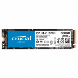 Disco SSD 500GB P2 M.2 2280 NVMe 2300MB/s PCIe 3.0