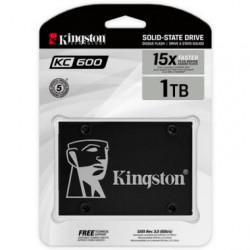 """Disco SSD KC600 1024 GB 2.5"""" sata 3 NAND 3D TLC"""