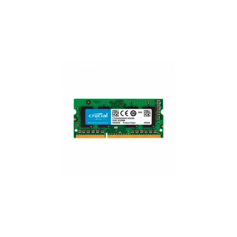 Memoria SODIMM DDR3L 4GB 1600MHz 1.35V