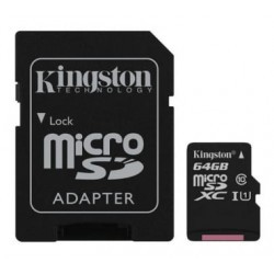 Kingston microSDHC 64GB Canvas
