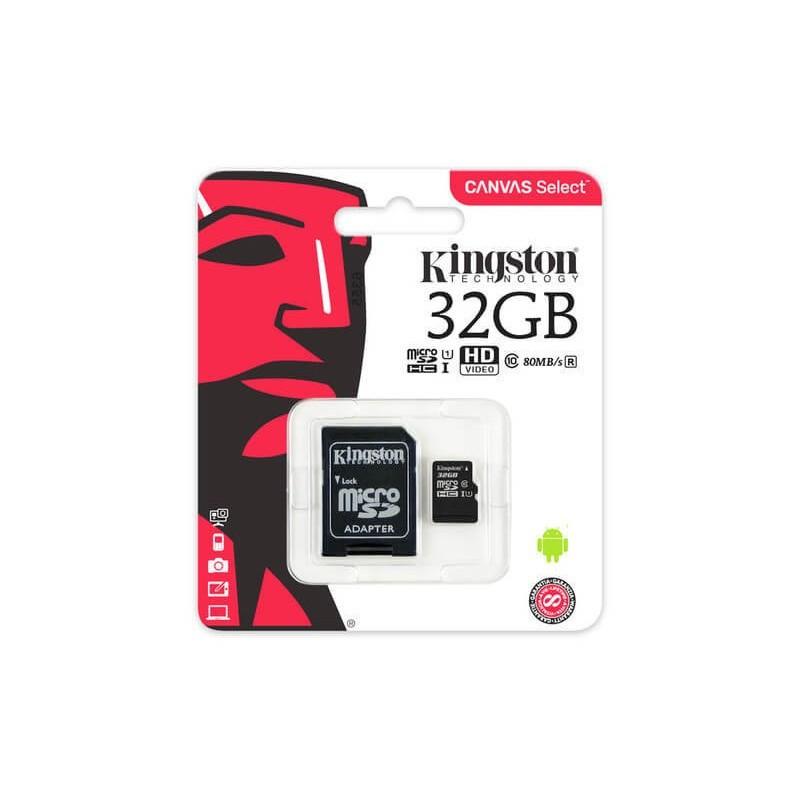 Kingston microSDHC 32GB Canvas Select