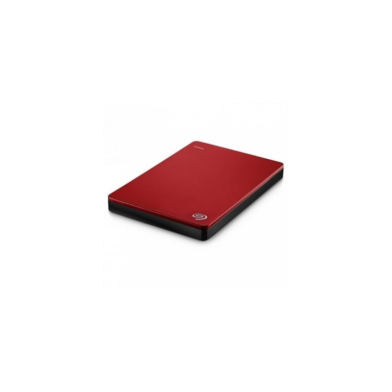 Seagate Backup plus Slim Rojo