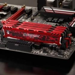 Memoria Ballistix Sport LT Red 8GB DDR4-2400 set