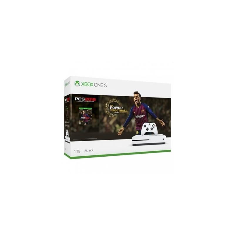 Xbox One S 1TB + PES 2019 ARG