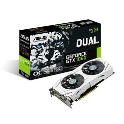 GeForce ASUS DUAL GTX 1060 OC 3GB